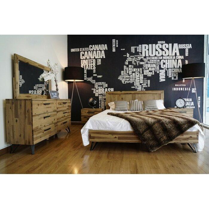 900 Light Wood Modern Bedroom Sets Free