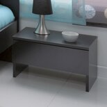 1 Drawer Bedside Table By Homestead Living