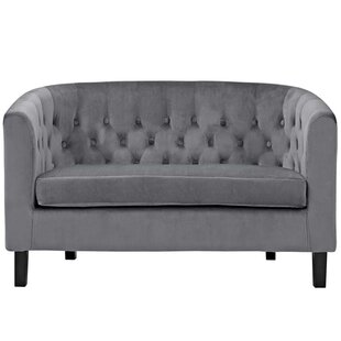 Shop Holderman Chesterfield Loveseat by Zipcode Design