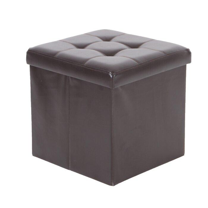 Enjoyable Nebel Foldable Square Tufted Storage Ottoman Short Links Chair Design For Home Short Linksinfo