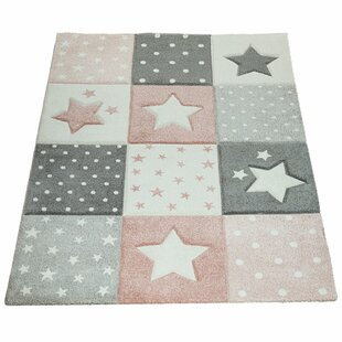 McAllister Shaggy Pink Rug By Isabelle & Max