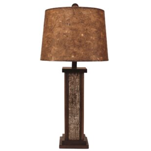 Arianna Poplar Bark with Wooden Dowel Accent 30 Table Lamp