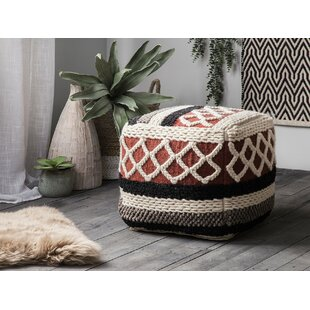 Haverly Pouf by Bungalow Rose