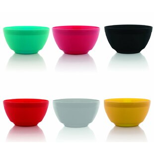 Elem 12 oz. Unbreakable Melamine Dining Bowl (Set of 6)