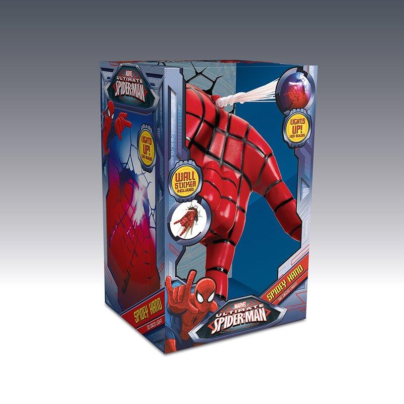 3d Light Fx 3d Spiderman Hand Deco Night Light Reviews Wayfair