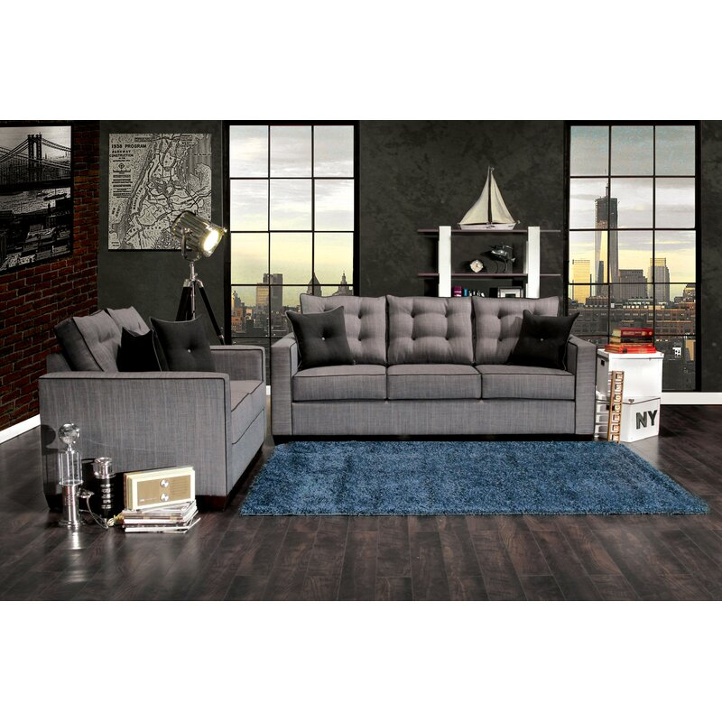 Hokku Designs Urban Valor Configurable Living Room Set Reviews Wayfair