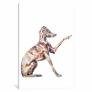 Greyhound Painting Wayfair