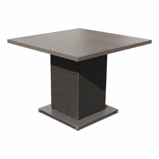 Medley Wicker/Rattan Dining Table by Rosecliff Heights