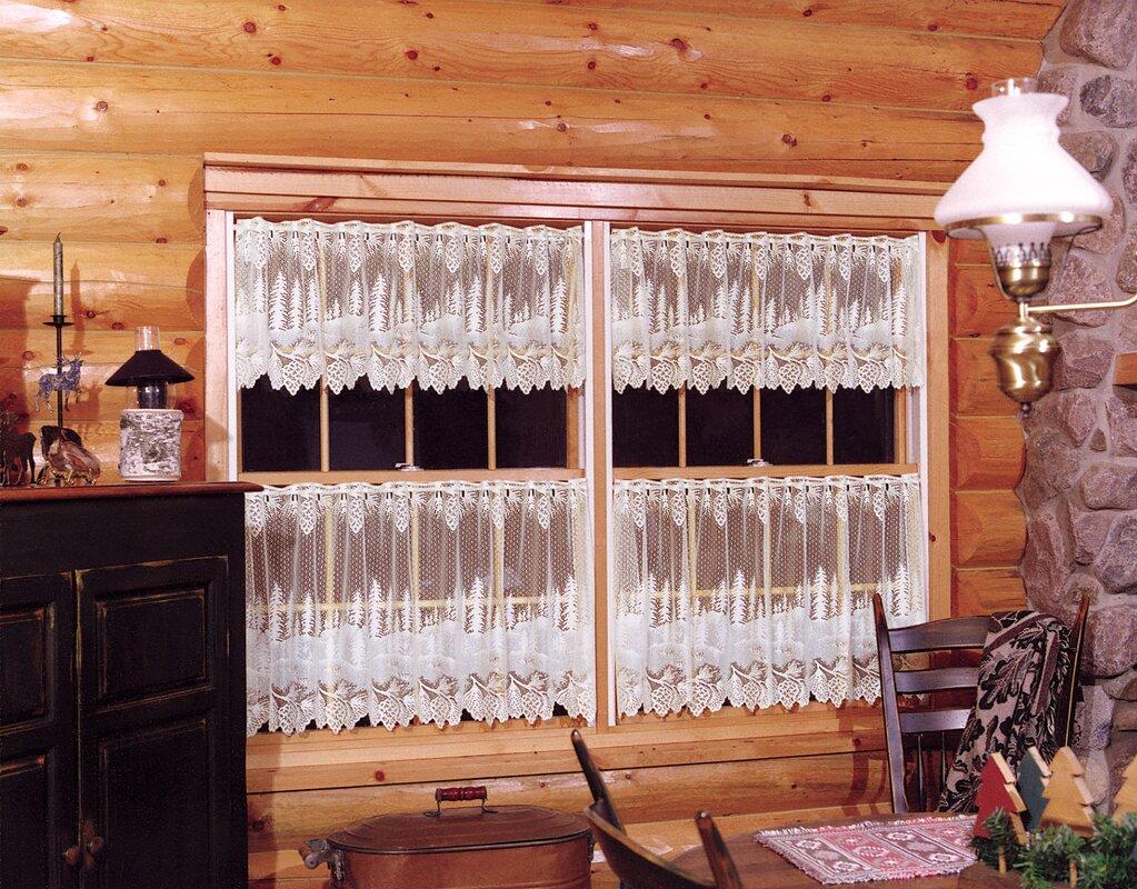Pinecone Curtain Valance & Tiers
