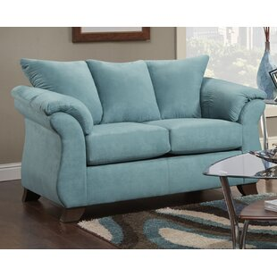 Great Price Homerville Loveseat by Charlton Home Reviews (2019) & Buyer's Guide
