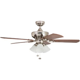 Compare & Buy 44 Springhill 5 Blade Ceiling Fan, Light Kit Included ByHoneywell