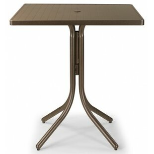 Find the perfect Aluminum Slat 36 inch  Square Bar Table Best Deals