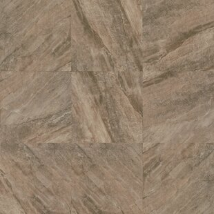 """Stone Mountain 24"""" x 24"""" Porcelain Field Tile in Taupe by"""