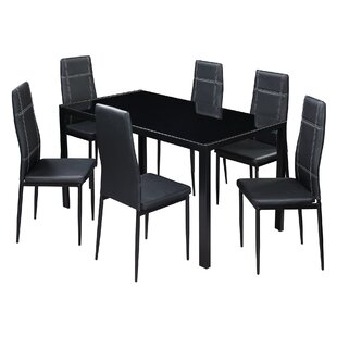 7 Piece Dining Set by Andover Mills Baby & Kids