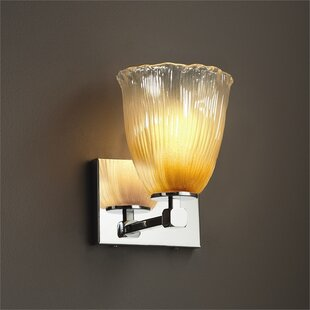 Kelli Wallula 1-Light LED Armed Sconce by Darby Home Co