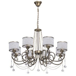 Real Simple 4 Light Shaded Classic Traditional Chandelier