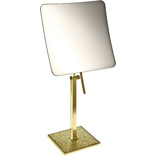 Best Reviews Patrice Square Makeup/Shaving Mirror By Rosdorf Park