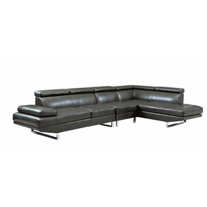 Berg Reclining Sectional by Wade Logan