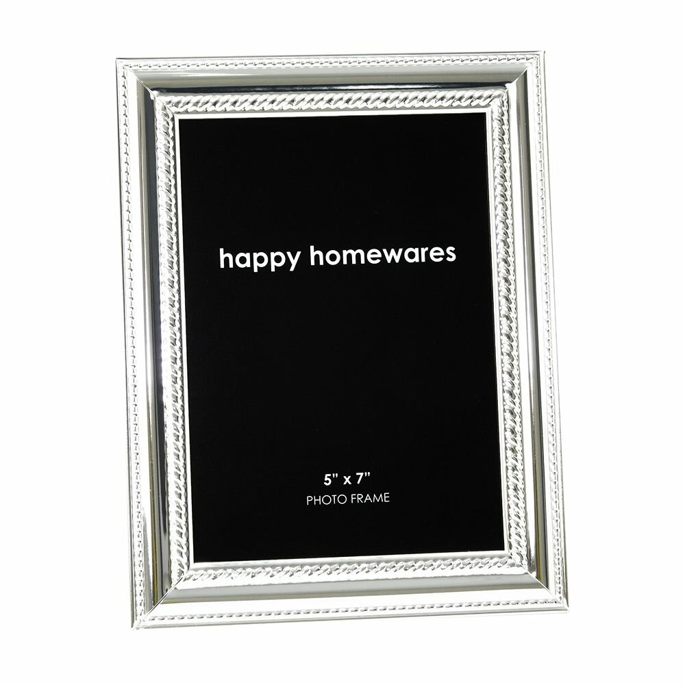 Happy Homewares Plated With Decorated Trims Picture Frame Wayfair