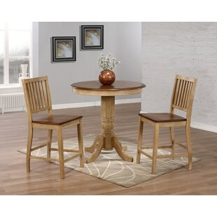 Huerfano Valley 3 Piece Pub Table Set Loon Peak