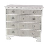 Vicknair Wood 4 Drawer Accent Chest by Ophelia & Co.