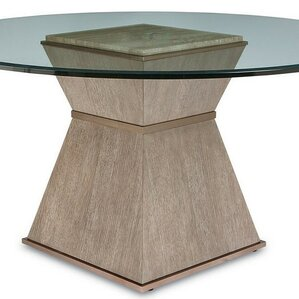 Regine Round Base Dining Table by Everly ..