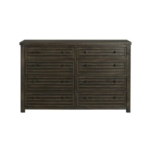 Panola 8 Drawer Double Dresser