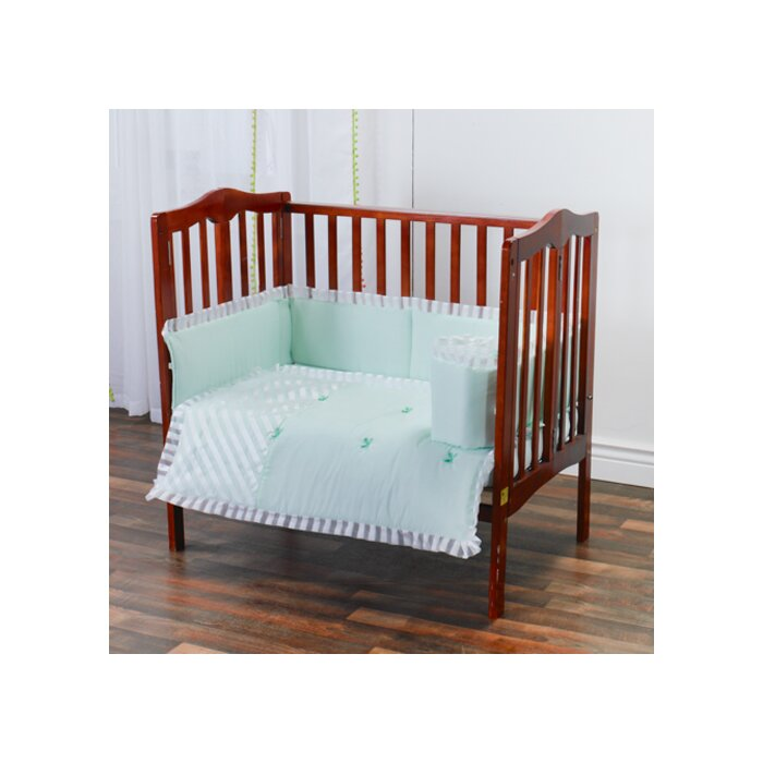 Harriet Bee Durdham Park Portable Mini Crib Bedding Set