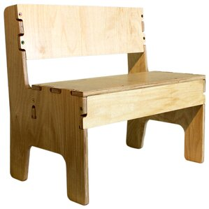 Wooden Kids Bench by Anatex