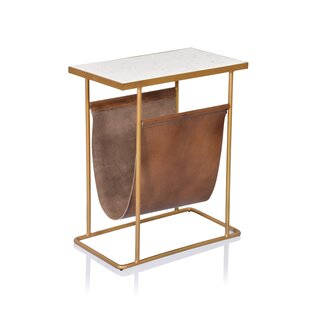 Léa End Table by Union Rustic