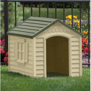 Herrington Deluxe Dog House in Tan & Mocha