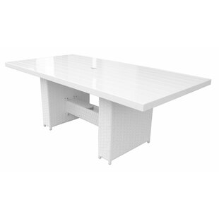 Miami Metal Dining Table by TK Classics