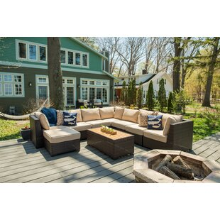 Darden 9 Piece Sectional Seating Group with Cushions