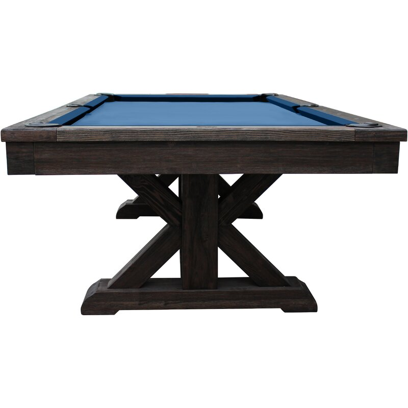 Playcraft Brazos River Weathered 8' Slate Pool Table & Reviews