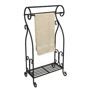 Freestanding Towel Rack By Three Posts