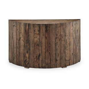 Union Rustic Juliana Demilune Console Table