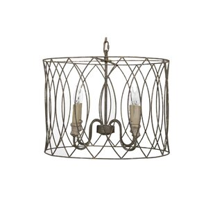 Gabby Mia 4-Light Chandelier