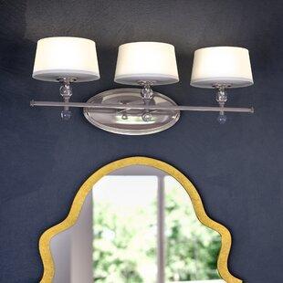 Willa Arlo Interiors Hedley 3-Light Vanity Light