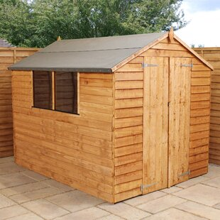 8 Ft. W X 8 Ft. D Solid Wood Garden Shed By WFX Utility