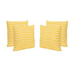 Bolesworth Outdoor Throw Pillow (Set of 4)