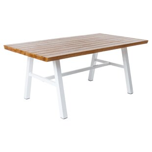 Lamoille Aluminium Dining Table By Sol 72 Outdoor