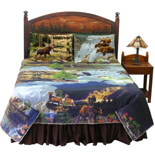 Wilderness Reversible Quilt Set by Patch Magic