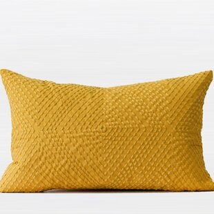Luxury Embroidered Lumbar Pillow