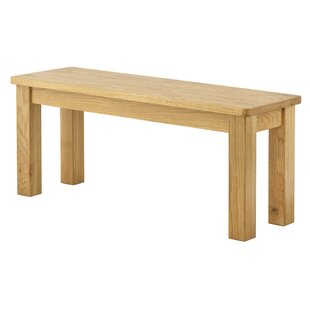 Amelia Wood Bench By August Grove