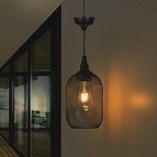 Review Whitaker 4 Light Outdoor Hanging Lantern