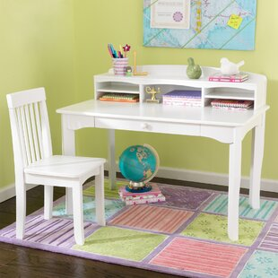 white kids desks you ll love wayfair rh wayfair com Desks for Small Rooms Small White Desks for Girls