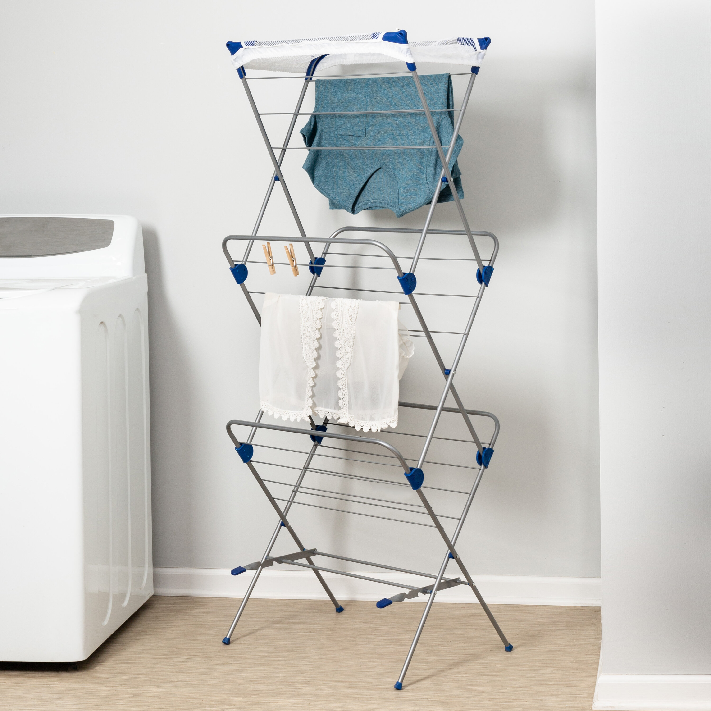Honey Can Do 3 Tier Mesh Top Folding Drying Rack Reviews Wayfair