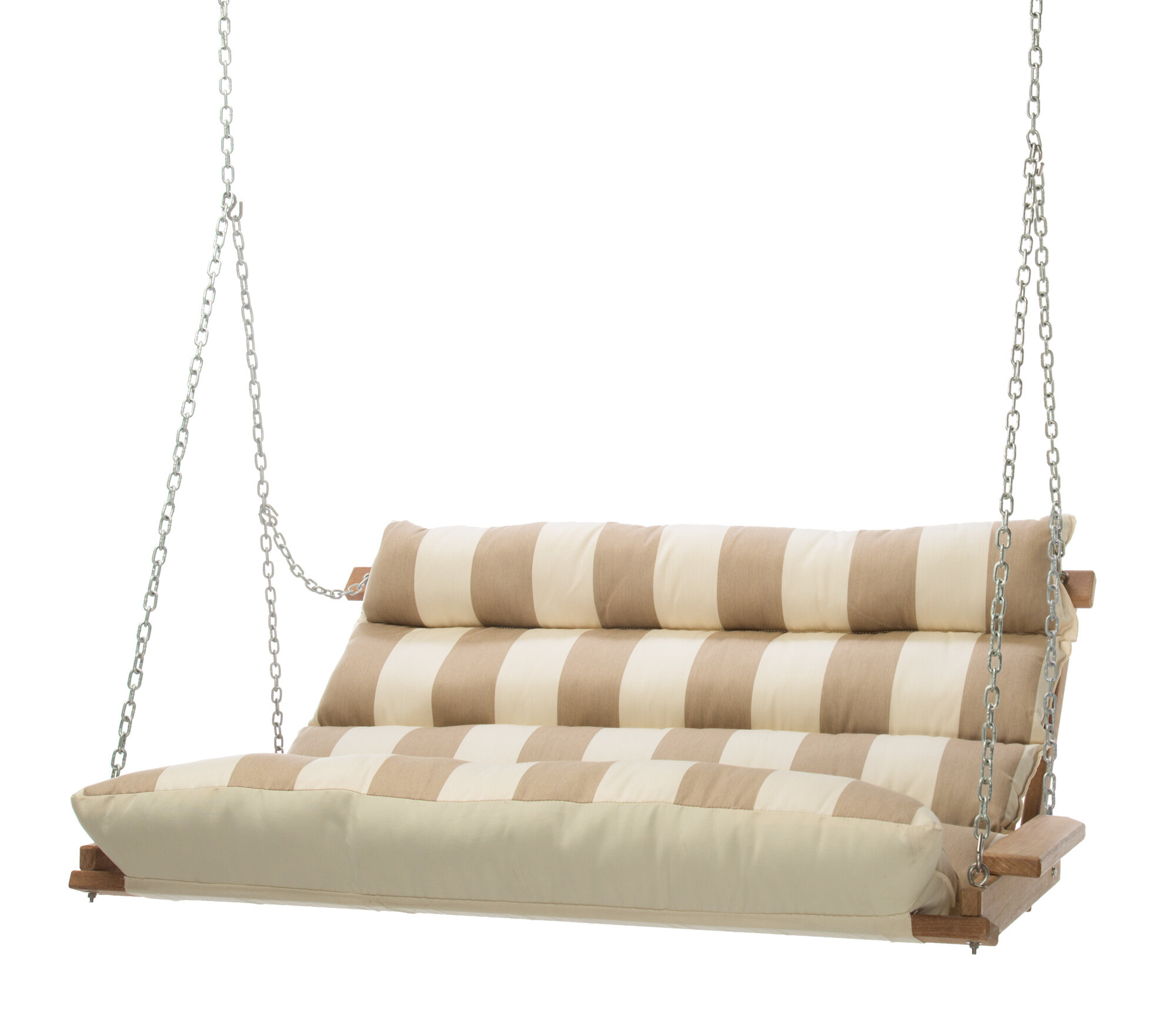 Rosecliff Heights Montgomery Regency Sand Deluxe Cushion Sunbrella