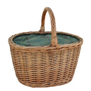 Oval Wicker Picnic Basket By Brambly Cottage