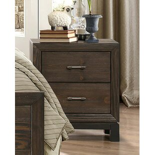Clearance Sheron 2 Drawer Nightstand by Gracie Oaks